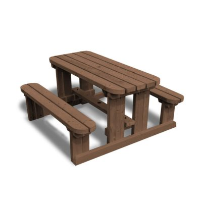 Tinwell Junior Rounded Picnic Bench 2