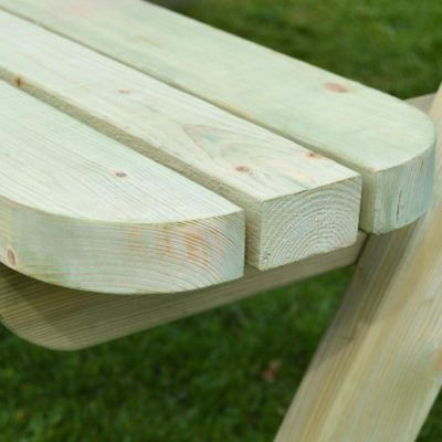 Oakham Rounded Picnic Bench 2