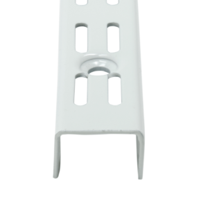R2300 White Twin Slot Uprights