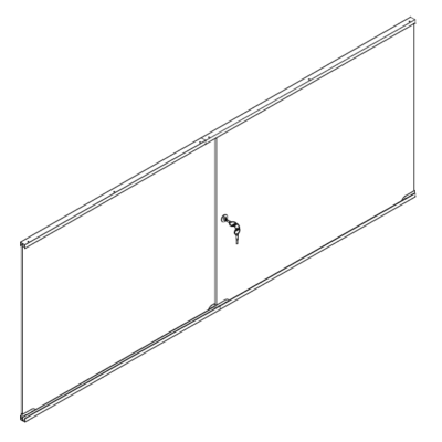 R1539 R1540 R1541 R1542 Sliding Door Pack for Self Assemble Shop Counters