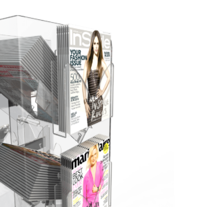 Bartuf K1001001 Magazine Pocket for Tower and Cube Newspaper Stands