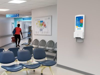 Hand Sanitiser Android Advertising Display - Hospital (1)