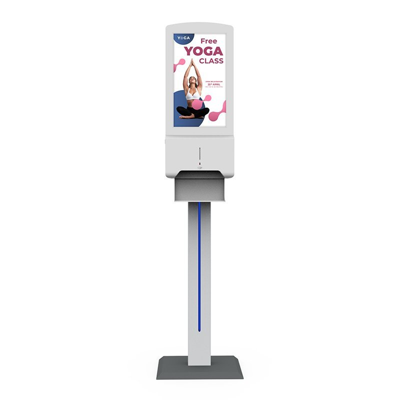 Hand Sanitiser Android Advertising Display - Stand (1)