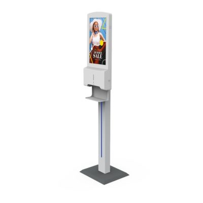 Hand Sanitiser Android Advertising Display - Stand (2)