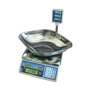 Excell FD3-P Pole Display - Veg Scoop