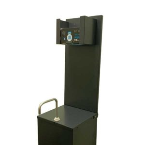 Optional Upstand and Mask Dispenser to suit HHS1 Hand Sanitiser Station