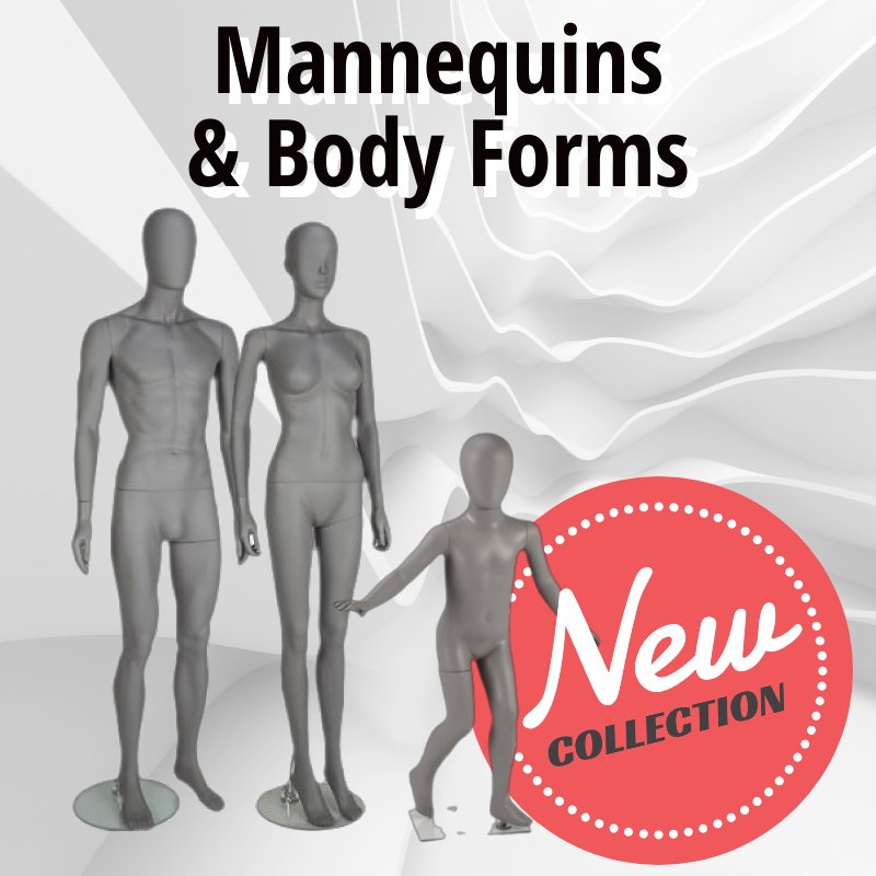 Mannequins and Body Forms at Discounted Prices